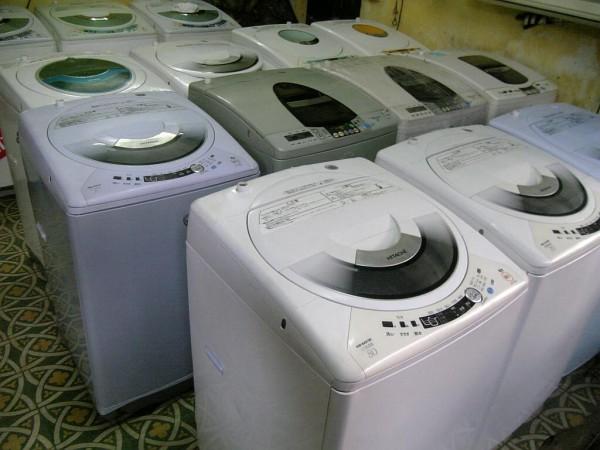 Thu mua máy giặt cũ giá cao tại nhà