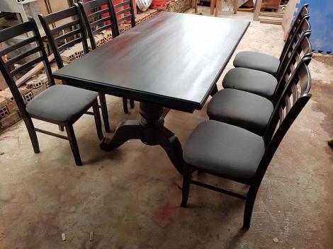 bộ bàn ăn gỗ tốt