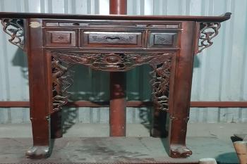 Trang thờ gỗ muồng
