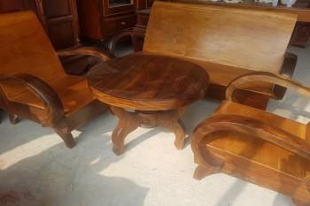Bộ bàn ghế salon thùng xưa