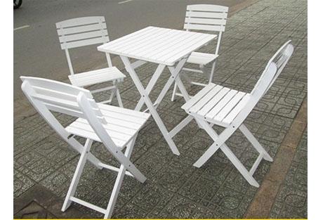 Bộ ghế xếp gỗ loại lớn