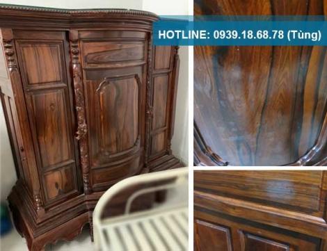 Thanh lý tủ thờ gỗ Cẩm Lai xưa