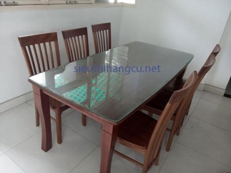 bàn ghé gỗ xoan đào
