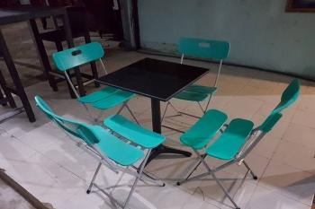 bàn ghế cà phê 4 ghế